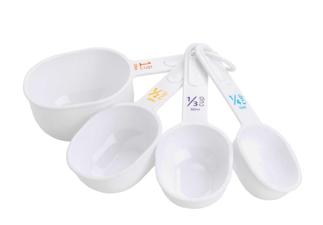 4-Piece E-Z Read Big Number Measuring Cups