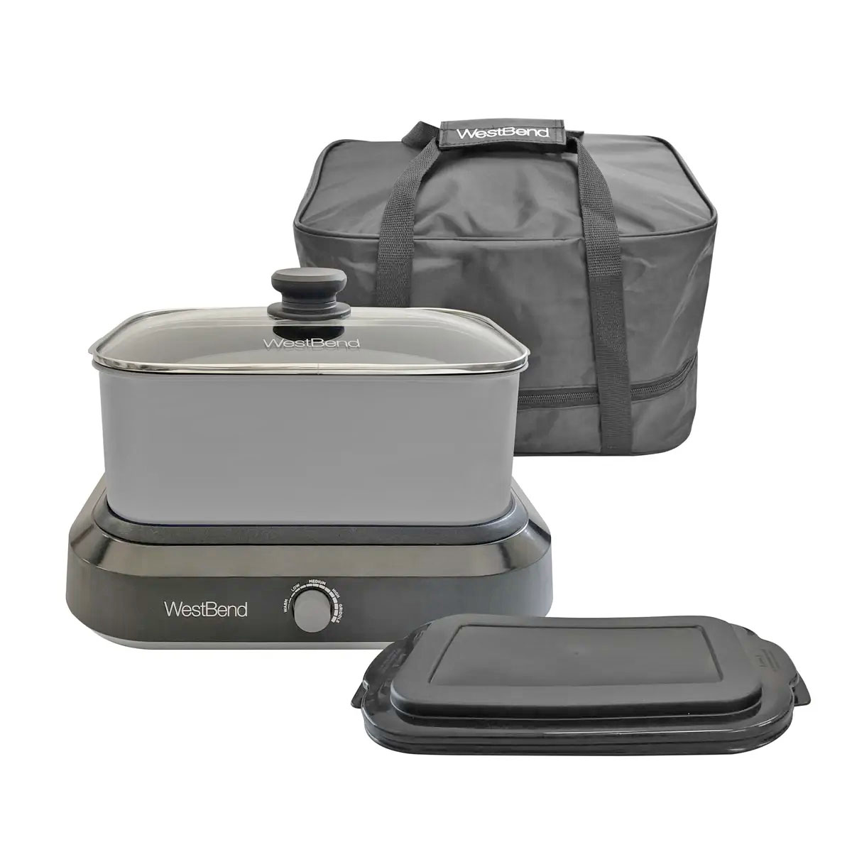5-Quart Oblong Slow Cooker Price: $55.95