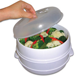 2 Tier Microwave Steamer Price: $12.95