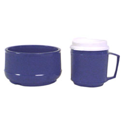Weighted Bowl and cup w-Lid set Price: $36.95