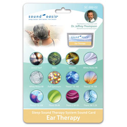 Ear Therapy- Sleep Sound Therapy System Sound Card