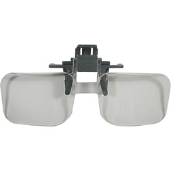 Clip and Flip Magnifying Glasses