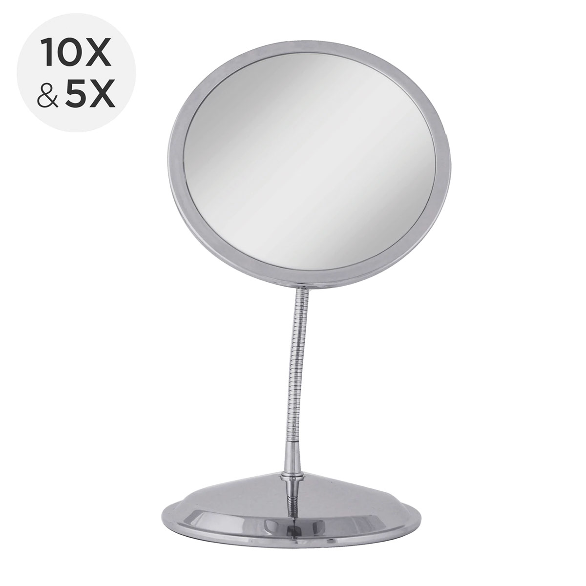 Zadro Double Vision Vanity and Suction Cup Mirror