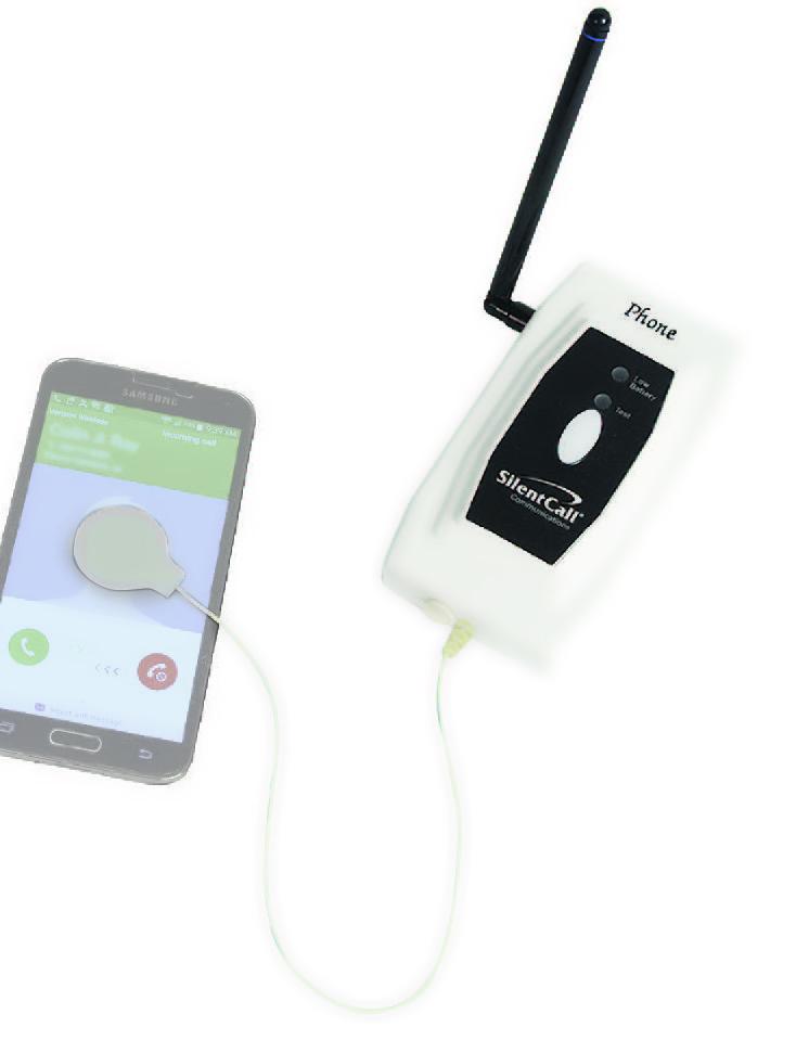 Medallion Cell Phone Transmitter