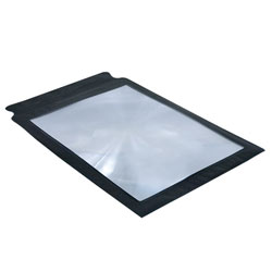 Full Page Magnifier - 3 Pack, 2x - 6-1-2 x 8-3-4 inches - click to view larger image