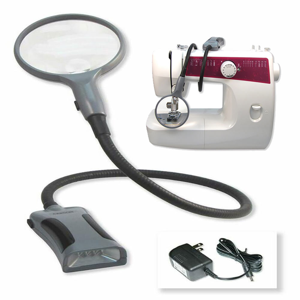 BoaMag Lighted Flexible 2.5x-5x Magnifier-Flashlight