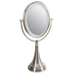 Zadro LED Lighted 10x-1x Vanity Mirror- Oval