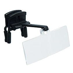 Clip On Spectacle Magnifier - Set of Four - click to view larger image