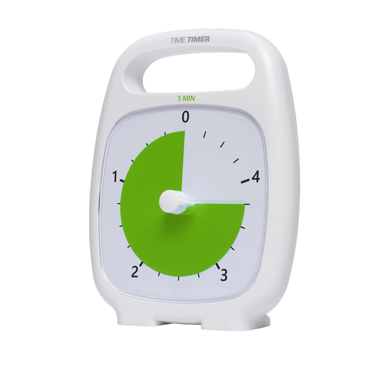 Time Timer Plus- 5 Minute- White