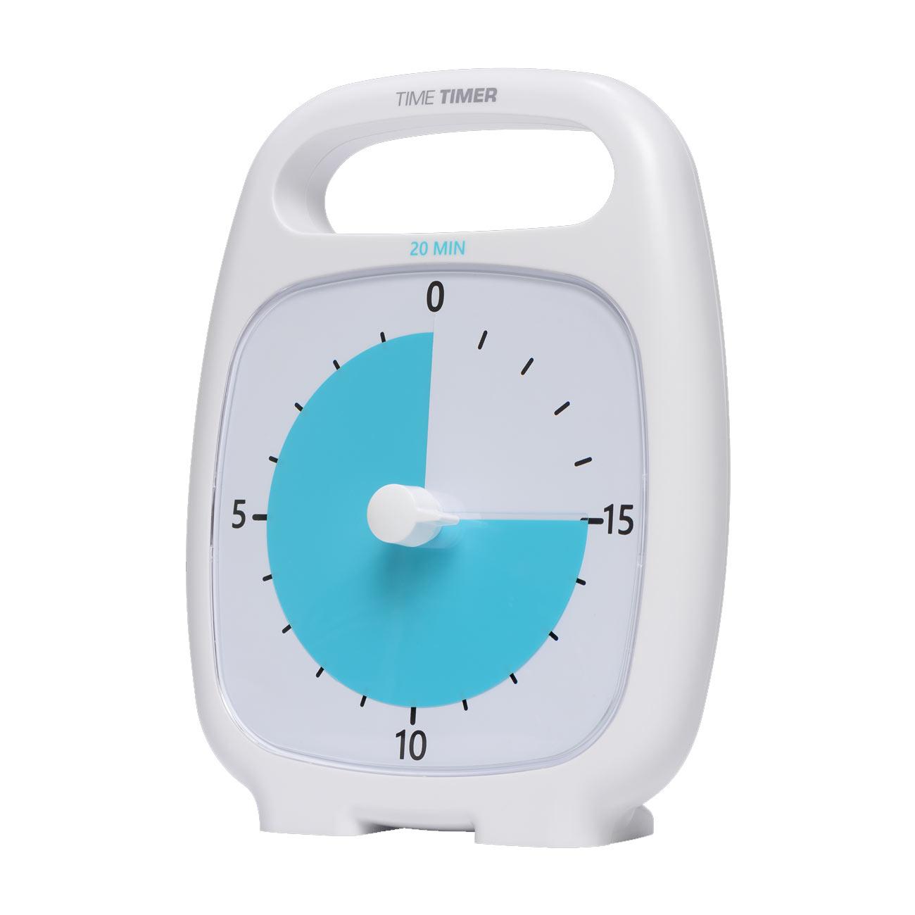 Time Timer Plus - 20 Minute - White