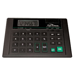 Desk-Top Talking Calculator  (WITH PRIVATE EAR) Price: $27.75