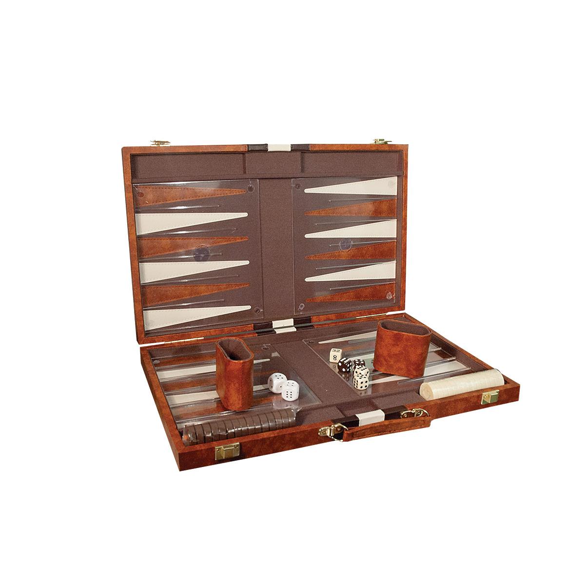 Deluxe Backgammon Set - Tactile