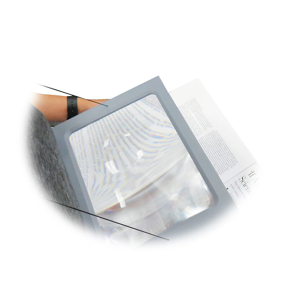 Reizen 2.5X Hands Free Full Page Magnifier for Reading
