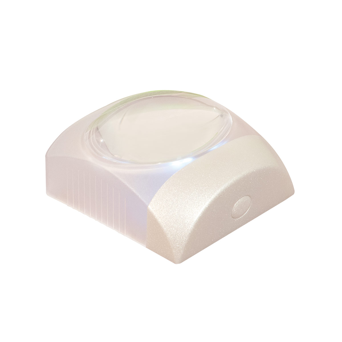 Reizen Square Stand 5X Lighted LED Dome Magnifier