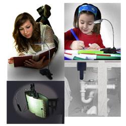LED Book Light Hobby Light and Task Light