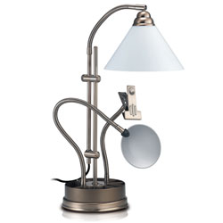 Daylight Ultimate Table Top Lamp-Antique Brass Price: $124.75
