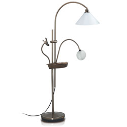 Daylight Ultimate Floorstanding Lamp - Antique Brass (for Low Vision) Price: $219.95