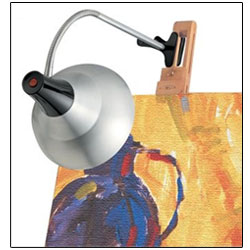 Daylight Easel Lamp with Clamp Price: $98.95