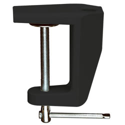 Mounting Bracket, Edge for Luxo Table Lamp Black