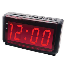 Jumbo Number Display Digital Alarm Clock Price: $14.95