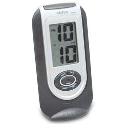 Reizen LCD Talking Alarm Clock- Rectangular