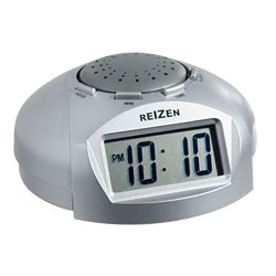 Reizen Big LCD Display Talking Alarm Clock Price: $14.95