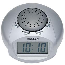 Reizen Big LCD Display Talking Alarm Clock