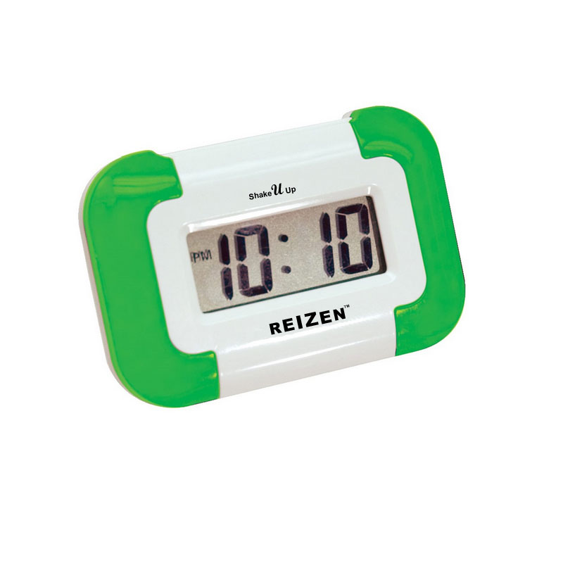 Reizen Shake-U-Up Vibrating Compact Travel Alarm Clock Price: $14.95