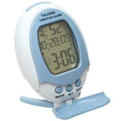 Reizen Talking Vibrating Alarm Clock Price: $12.95