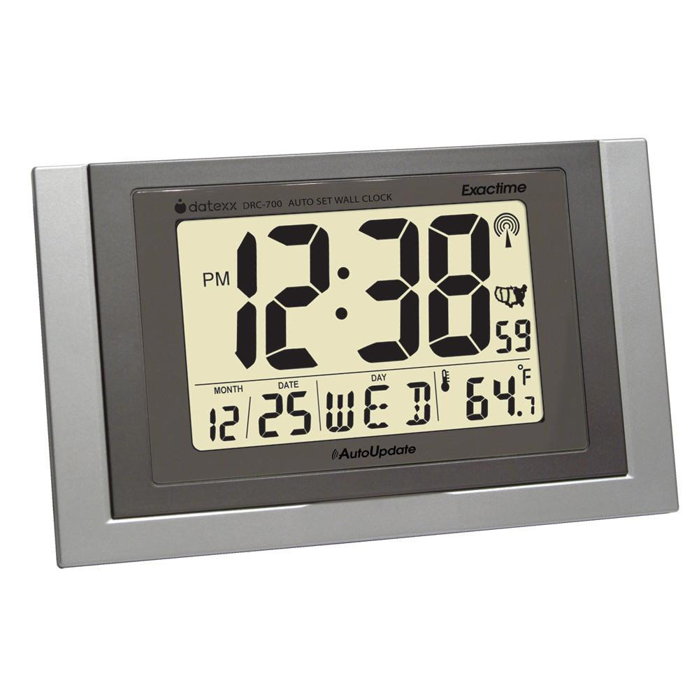 Exactime Wall Clock Temperature Calendar