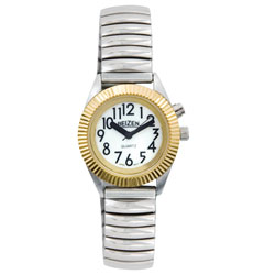 Reizen Womens Glow Low Vision Watch with Blue EL Light Price: $19.95