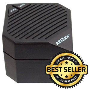 Reizen 3-in-1 Talking Super Cube - Clock for the Visually Impaired Price: $25.95