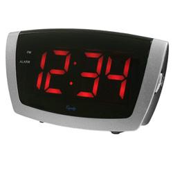 Digital Alarm Clock with 1.8-inch Jumbo LED