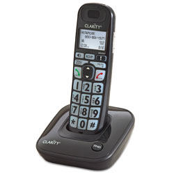 Clarity D703 35dB DECT 6.0 Amplified Low Vision Cordless Phone w-CID Price: $64.95