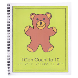 Childrens Braille Book - Counting Book Price: $13.95