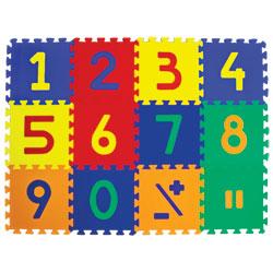 Edu-Tile - 10 Tiles - Numerals