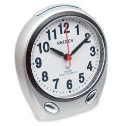 Reizen Talking Atomic Analog Alarm Clock Price: $34.75