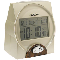 REIZEN Talking Atomic Alarm Clock Price: $37.95