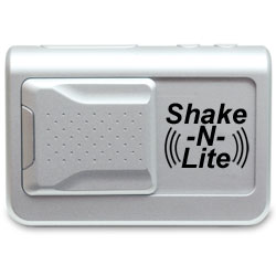 Shake-N-Lite Vibrating Alarm Clock with Backlight