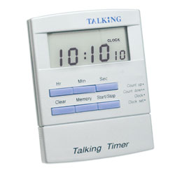 Spanish Talking Timer for the Blind and Visually Impaired - click to view larger image