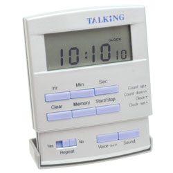 Spanish Talking Timer for the Blind and Visually Impaired