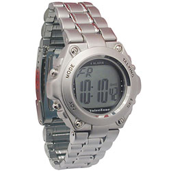 Round Metal 4-Alarm English Talking Watch Price: $21.50