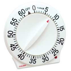 Sunbeam Quartz Long-Ring Timer Price: $11.50