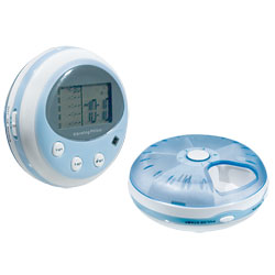 Reizen Vibrating Five Alarm Pill Box