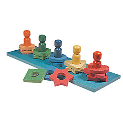 Tactile Shape and Color Game