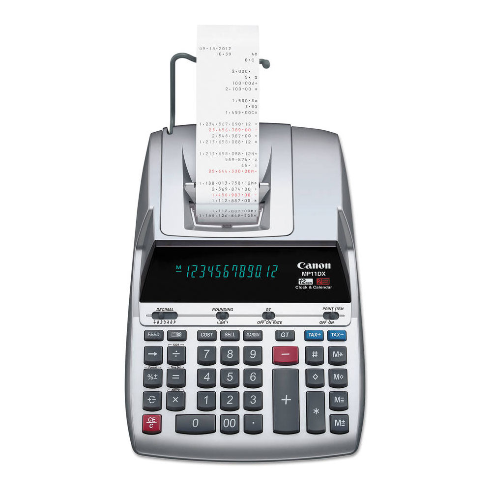 Canon Large Print DeskTop Calculator Price: $49.95