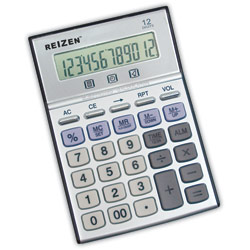 Reizen 12-Digit Talking Calculator Price: $14.95