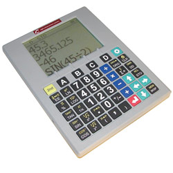 Gray Low Vision Scientific Calculator with Speech Output Price: $365.00