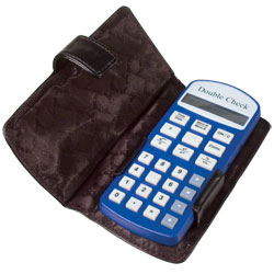 Double Check Talking Financial Calculator