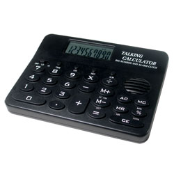 Talking Calculator with Alarm Clock and Music Price: $12.95